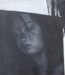 Self Portrait Painting by Lana Cheng