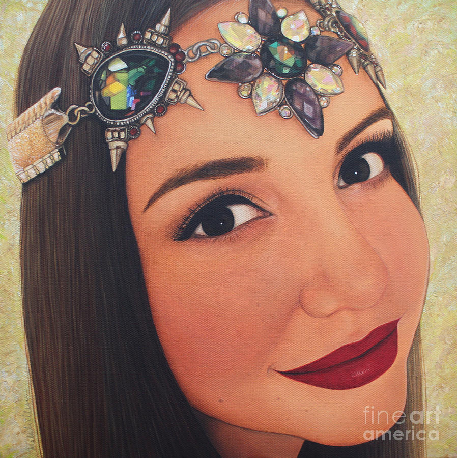 Self Portrait by Malinda Prudhomme