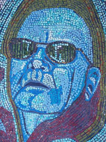 Sunglasses Mixed Media - Self Portrait by Richard Huston