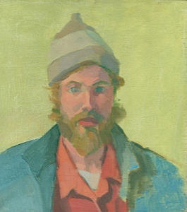 Self- Portrait  by Sperry Andrews