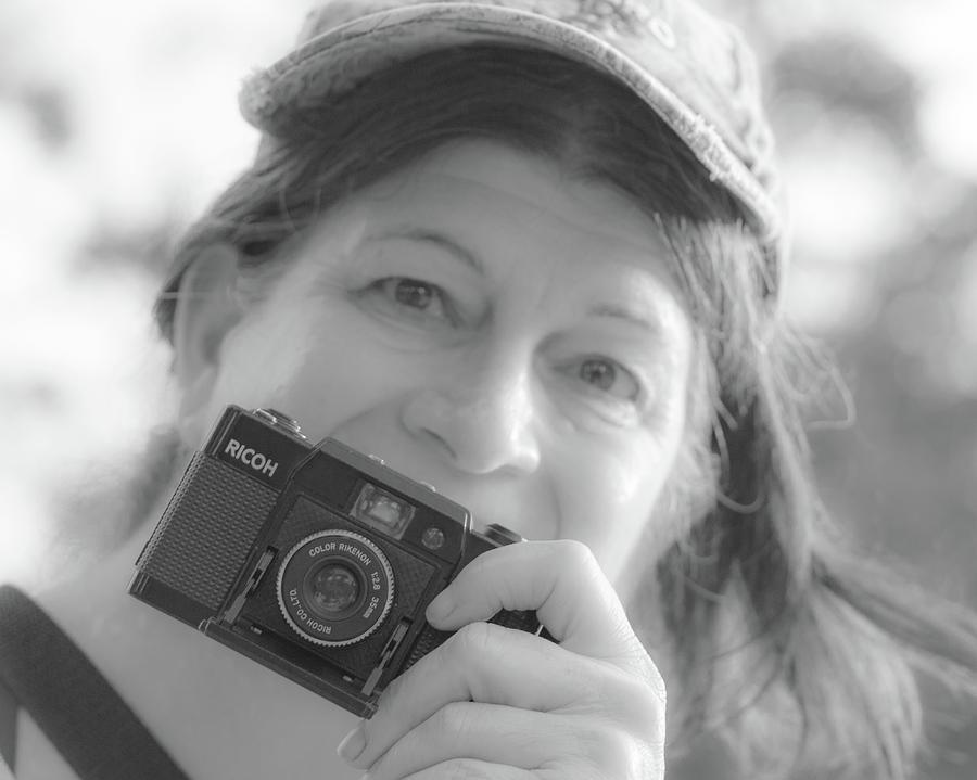 Self Portrait With A Ricoh Photograph