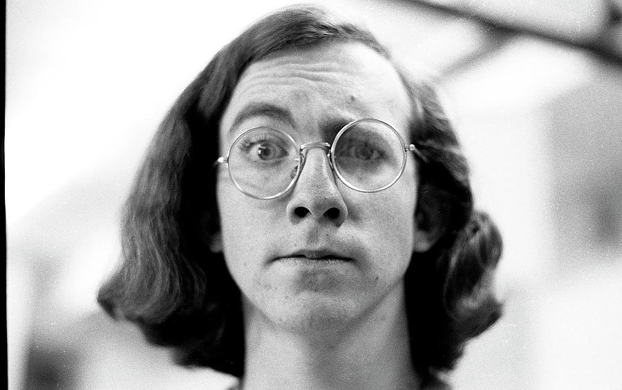 Self-Portrait, With Raised Eyebrow, 1972 by Jeremy Butler