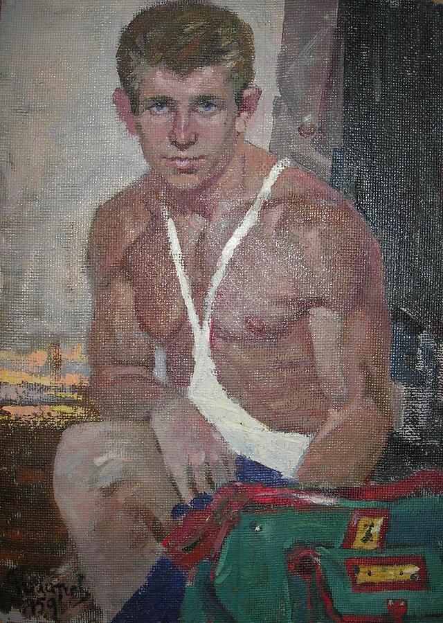 Self-portret Painting by Filatchev Oleg