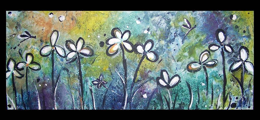 Flower Painting - Self Rising Flower by Amanda  Sanford