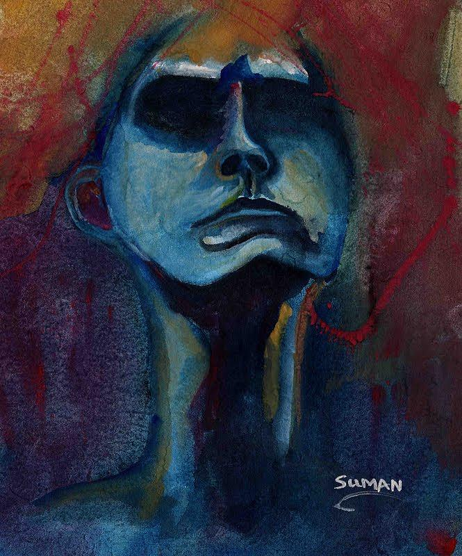 Self Painting by Suman Ghosh