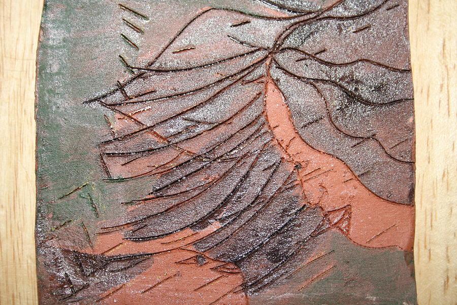 Jesus Ceramic Art - Selinas Babe - Tile by Gloria Ssali