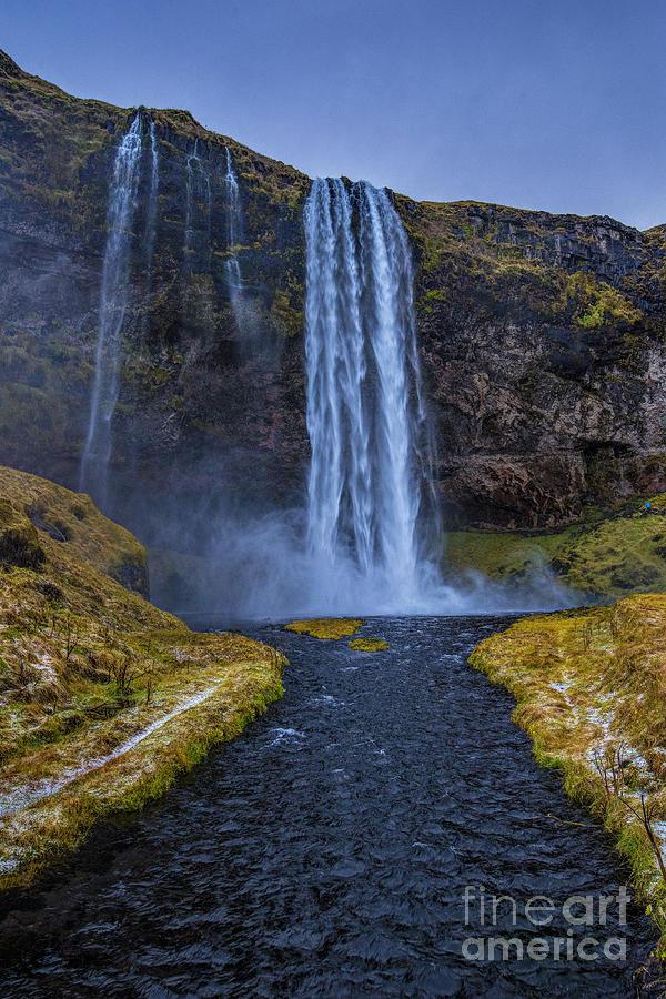 Seljalandsfoss Waterfall Iceland Photograph
