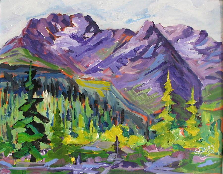 Landscape Painting - Selkirk Serenity by Gordon Davis