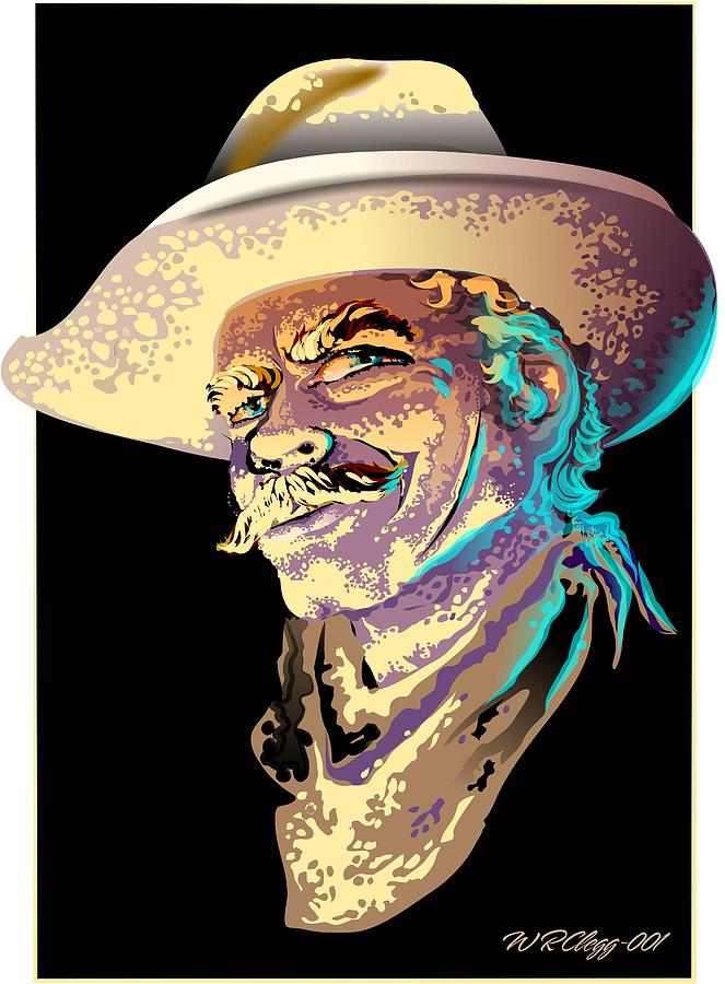 Selleck Digital Art by William R Clegg