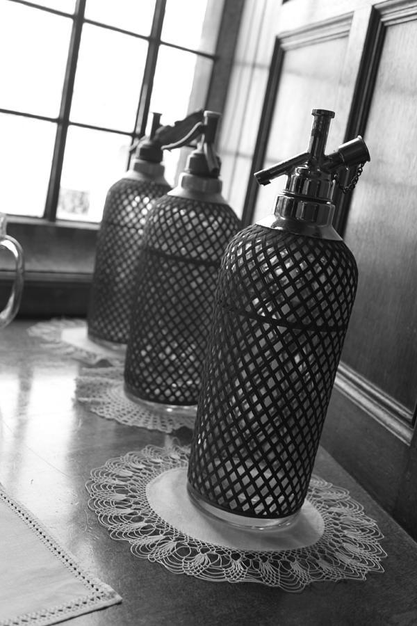 Seltzer Photograph - Seltzer Bottles by Lauri Novak