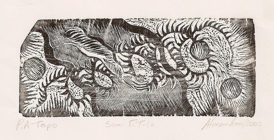 Topo Print - Sem Titulo by Alexandro MF