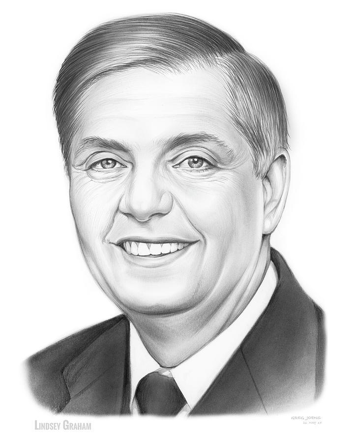 Senator Lindsey Graham Drawing