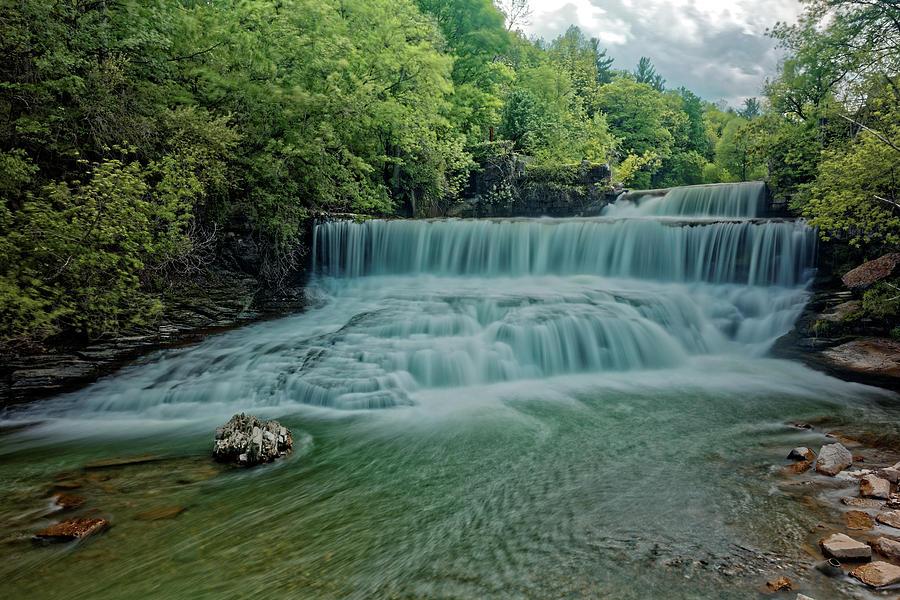 Fingerlakes Photograph - Seneca Mills Waterfall by Doolittle Photography and Art