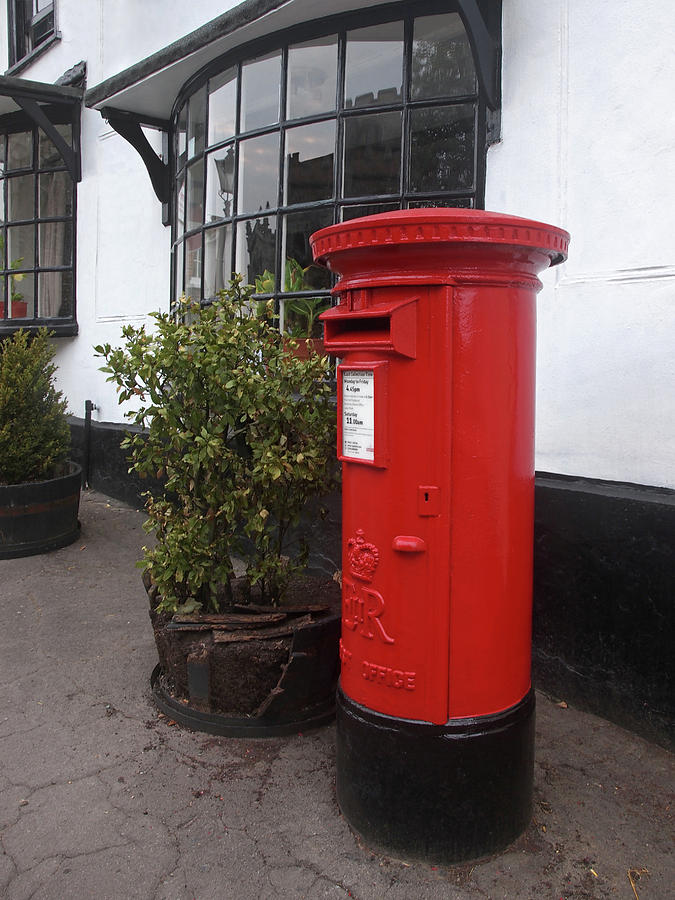 Royal Mail Letter Box.Send A Message Home Royal Mail Post Box