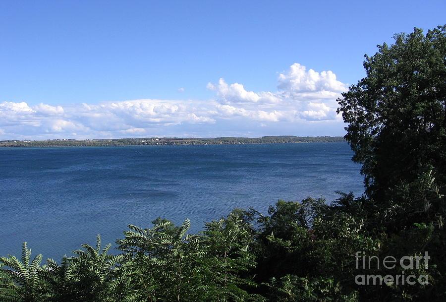 Finger Lakes Photograph - Seneca Lake Finger Lakes New York by Rose Santuci-Sofranko