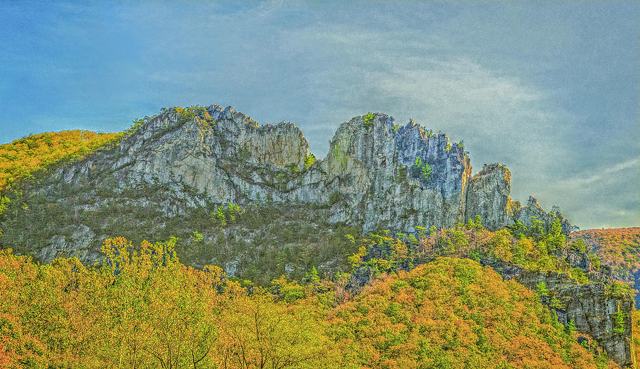 Seneca Rock West Virginia by David Waldrop