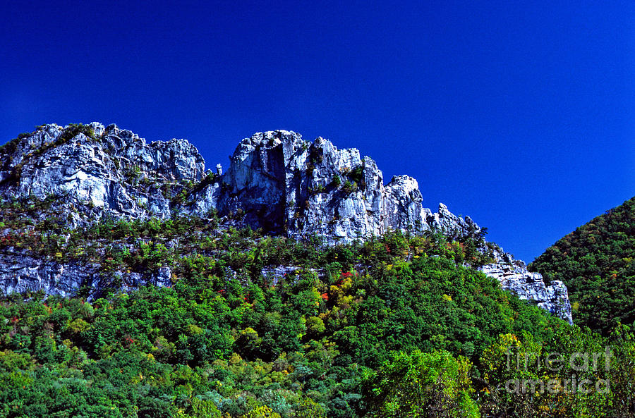 West Virginia Photograph - Seneca Rocks National Recreational Area by Thomas R Fletcher