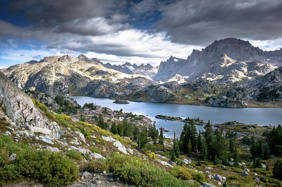 Senica Lake by Carl Simmerman