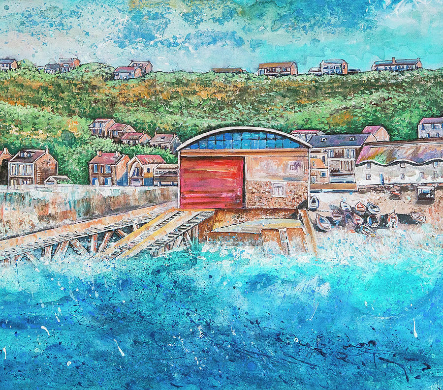 Sennen Painting - Sennen Cove by Diane Griffiths