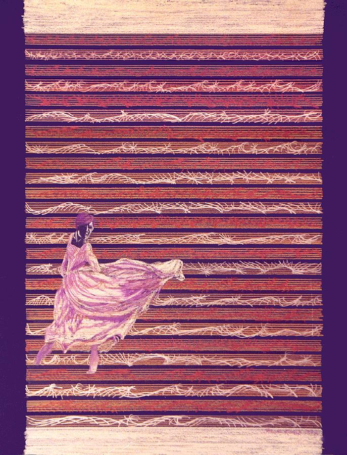 Senorita Dance Drawing