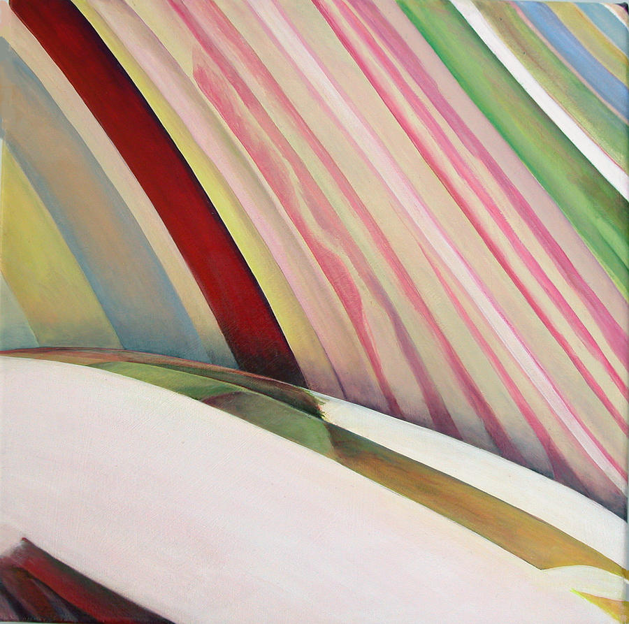 Abstract Painting - Sens 1 by Muriel Dolemieux