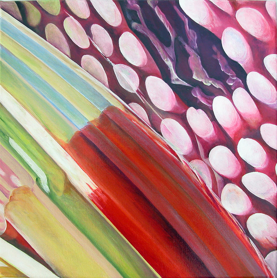 Abstract Painting - Sens 2 by Muriel Dolemieux