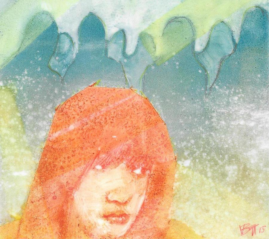 Watercolor Painting - Sense by Vanessa Baladad