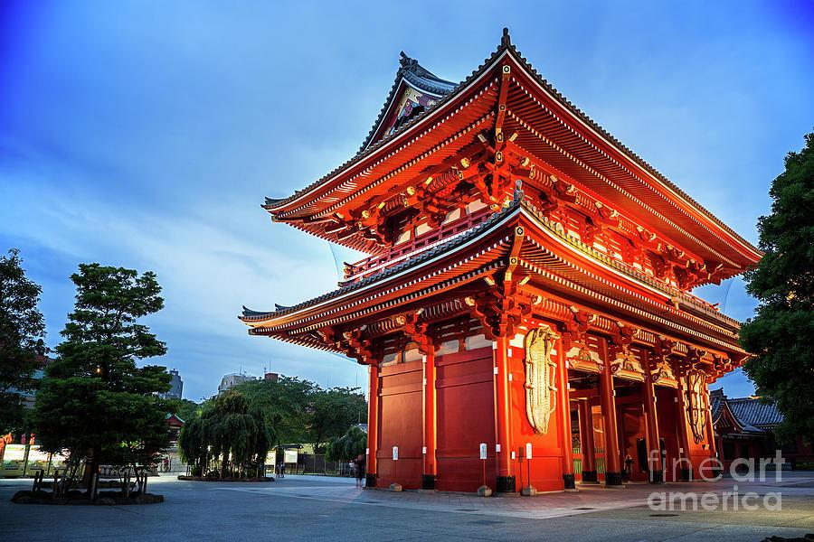 Tokyo Photograph - Sensoji Temple by Jane Rix