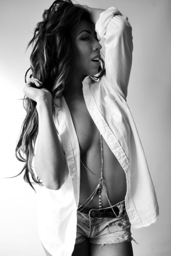 Woman Photograph - Sensual 1 by Byron Johnson