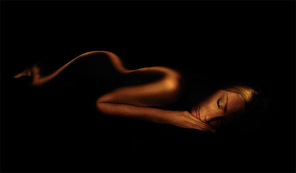 Portrait Photograph - Sensual Curves by Denis Palbiani