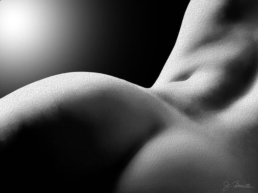 Sensual Digital Art - Sensual Sinuosity by Joe Bonita