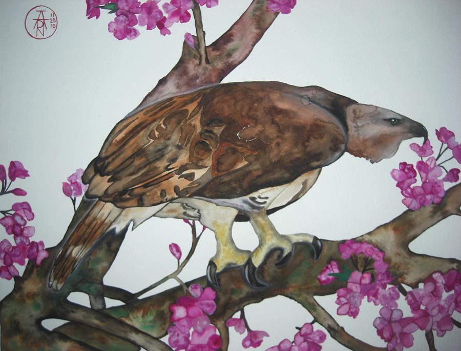 Sentinel Painting - Sentinel by Audrey N Reda