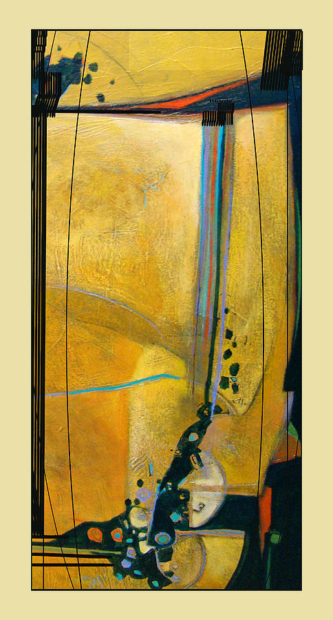 Abstract Mixed Media - Sentinel II by Dale  Witherow
