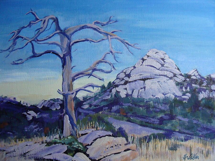 Landscape Painting - Sentinel by Judy Fischer Walton