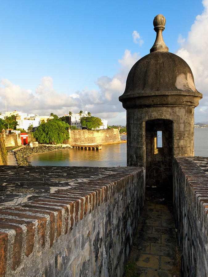 Architecture Photograph - Sentry Post On Old City Wall by George Oze