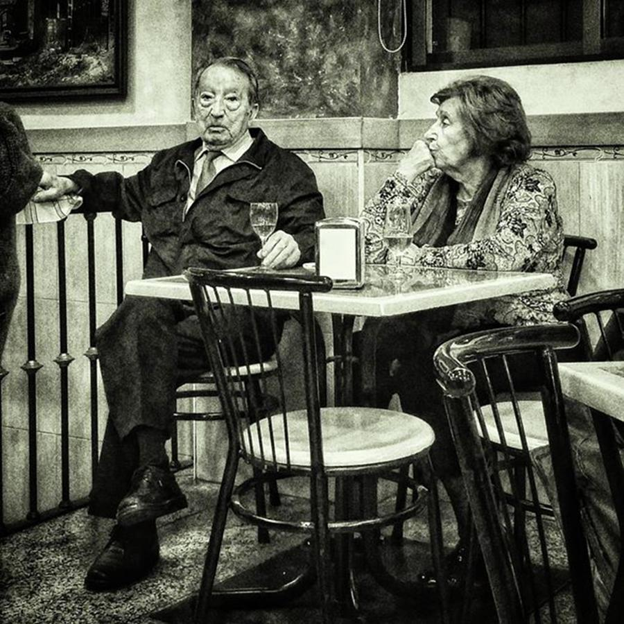 Couple Photograph - Señor (and Señora) #man #woman by Rafa Rivas