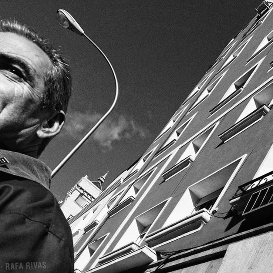 People Photograph - Señor  #señor #mqn #sky #building by Rafa Rivas