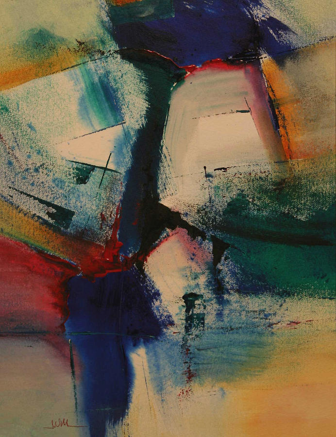 Contemporary Painting - Separation  Anxiety by Andy Morris