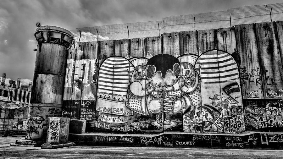 Graffiti Photograph - Separation by Stephen Stookey