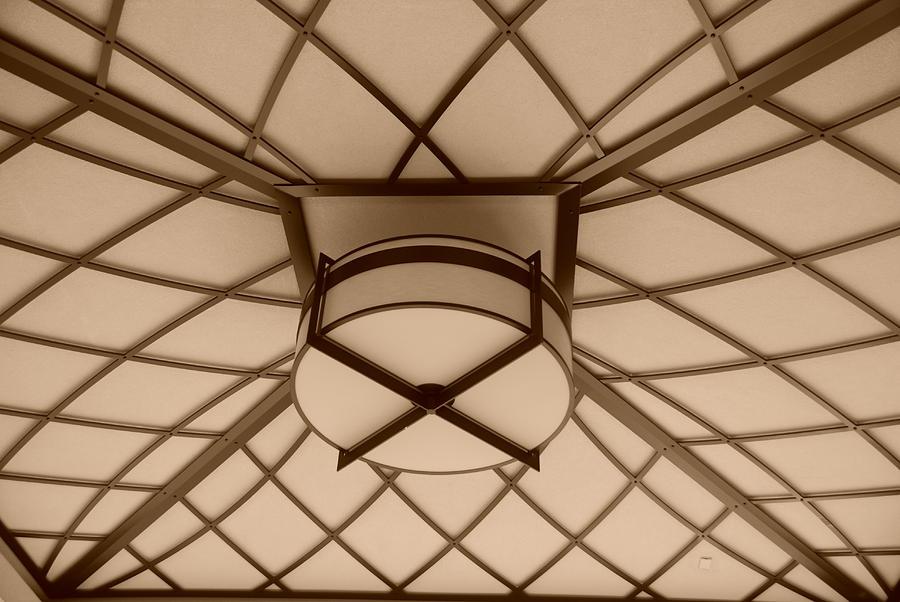 Sepia Photograph - Sepia Lighted Box by Rob Hans