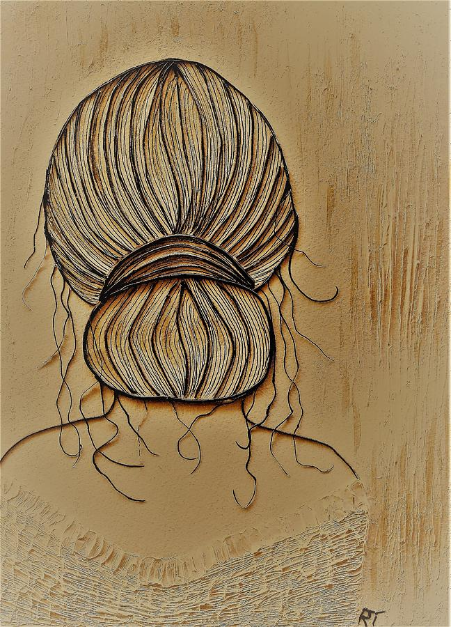 Sepia Painting by Ruth Taylor