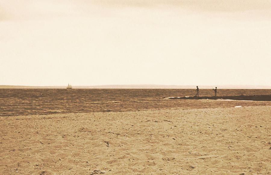 Cape Photograph - Sepia Sands by JAMART Photography