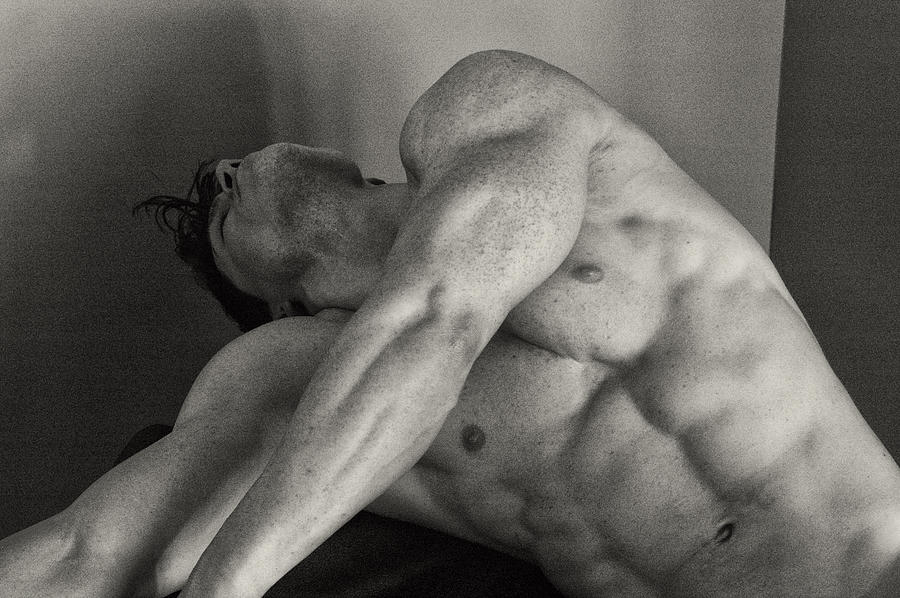 Physique Photograph - Sepia Yaw by Thomas Mitchell