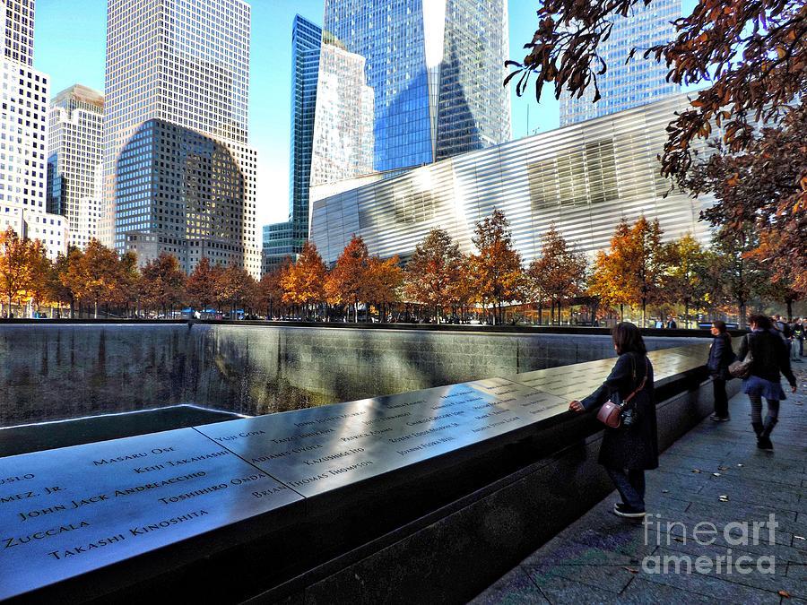 911 Photograph - September 11 Memorial by Doug Swanson
