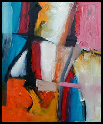 Abstract Expressionism Painting - September I by Robert Standlee