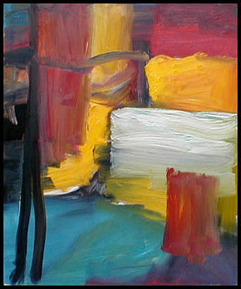 Abstract Expressionism Painting - September II by Robert Standlee