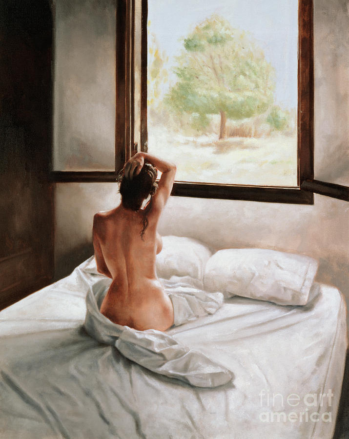 Nude Painting - September Morning by John Worthington