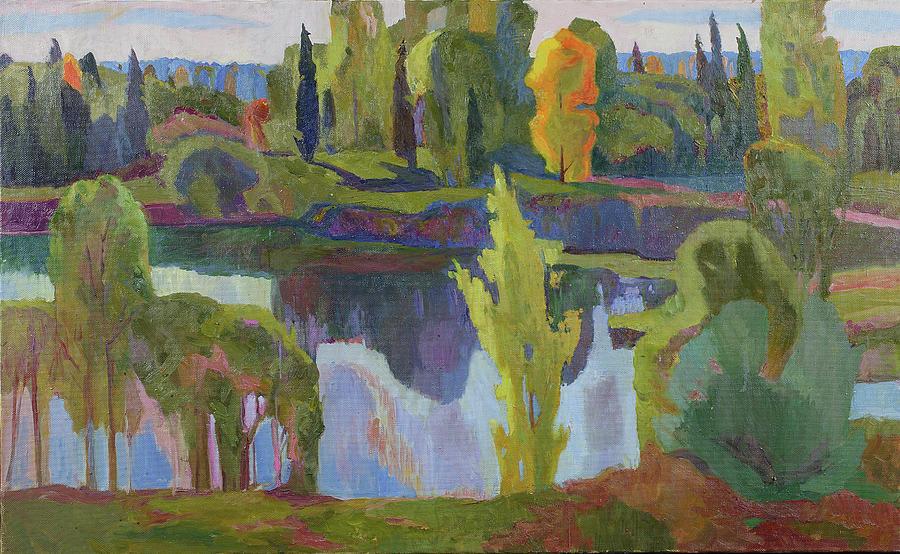 September on the dam by Yana Poklad