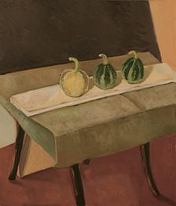 September Still-life Painting by Raimonda Jatkeviciute-Kasparaviciene