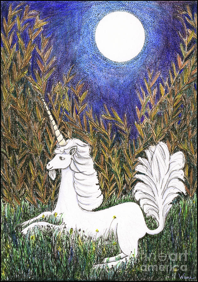 September Unicorn by Lise Winne